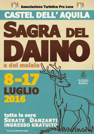 Sagra del Daino - Castel dell\' Aquila - 2016