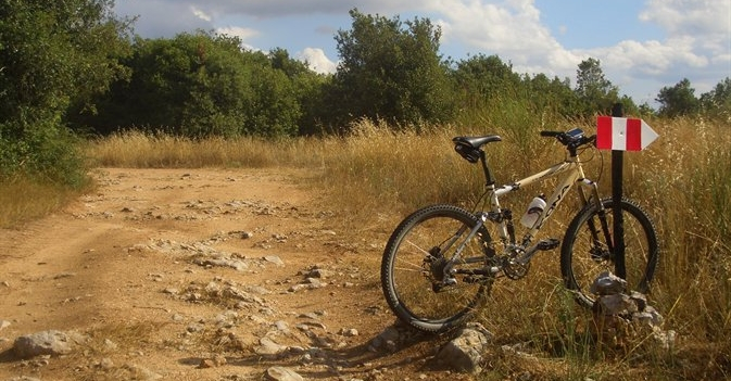 percorsi gps mountainbike cavallo hicking amelia terni umbria colli amerini