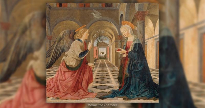 Annunciazione - Piermatteo D'Amelia - Museo Isabella Stewart Gardner - Boston.