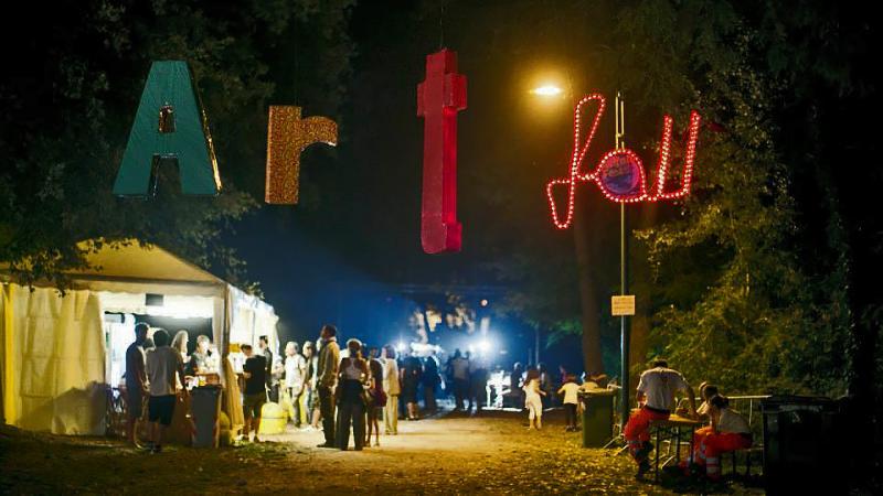 Associazione Culturale ArtFall: in foto Artfall Festival presso il Lago Vecchio di Amelia
