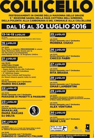 Sagra Fava cottora - Collicello 2016 - Amelia Terni Umbria