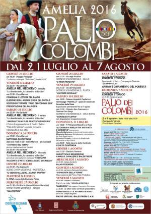 Palio dei Colombi 2016 Amelia - Umbria