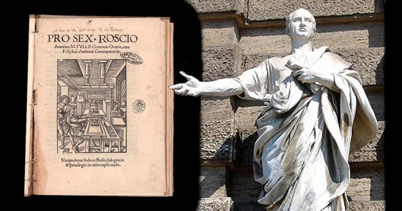 Pro Roscio Amerino: orazione di Cicerone