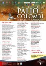 Programma del Palio dei Colombi di Amelia - 2014
