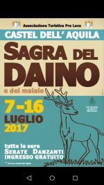Sagra del Daino -  Castel Dell'Aquila - Umbria