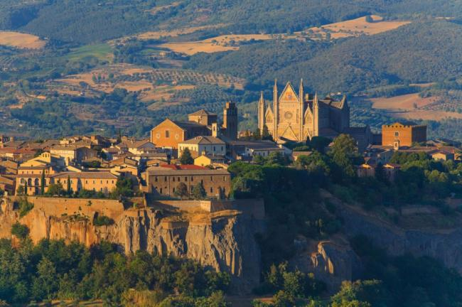 Vista Citta di Orvieto - Terni - Umbria