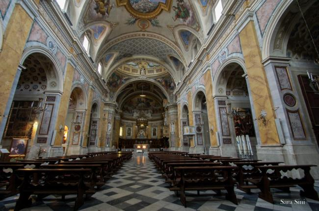 Cattedrale di Amelia Umbria - Torre civica dodecagonale