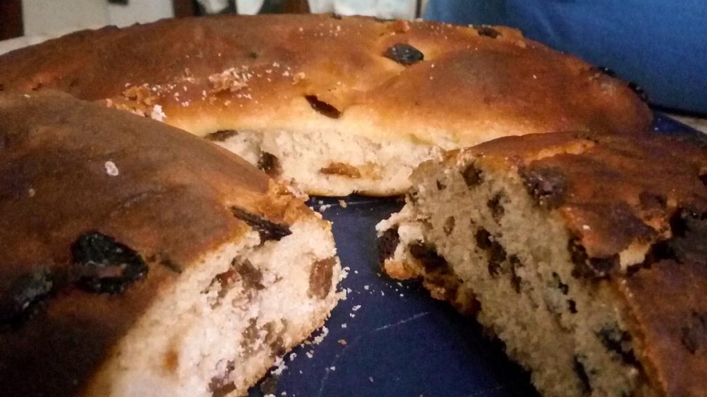 Ricetta del Maritozzo al mosto d'Uva, dolce tipico Umbro