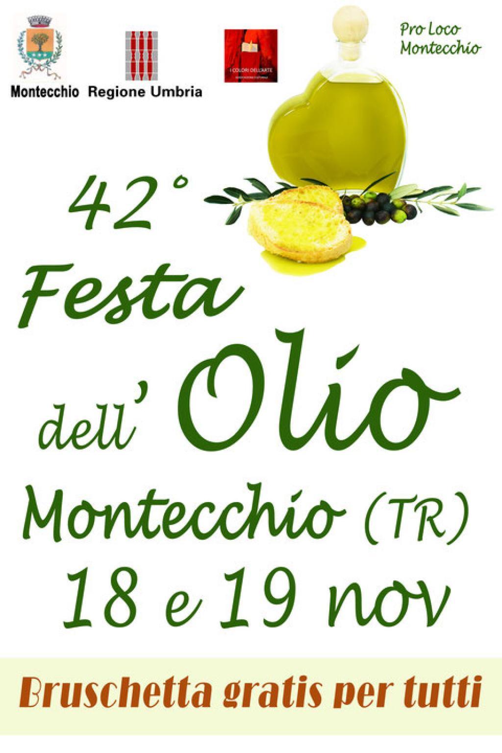 42° Festa dell'Olio Montecchio
