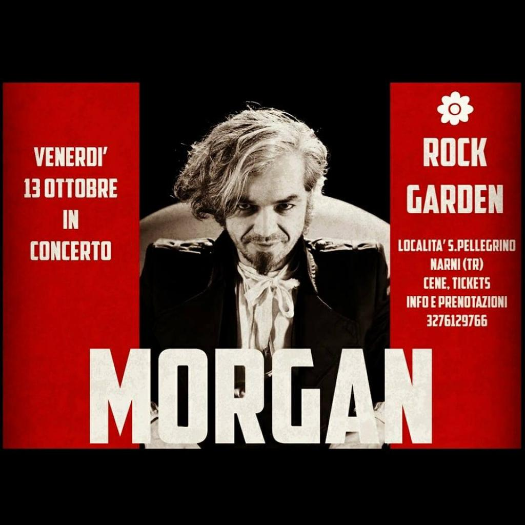Morgan in Concerto - Rock Garden ad Amelia