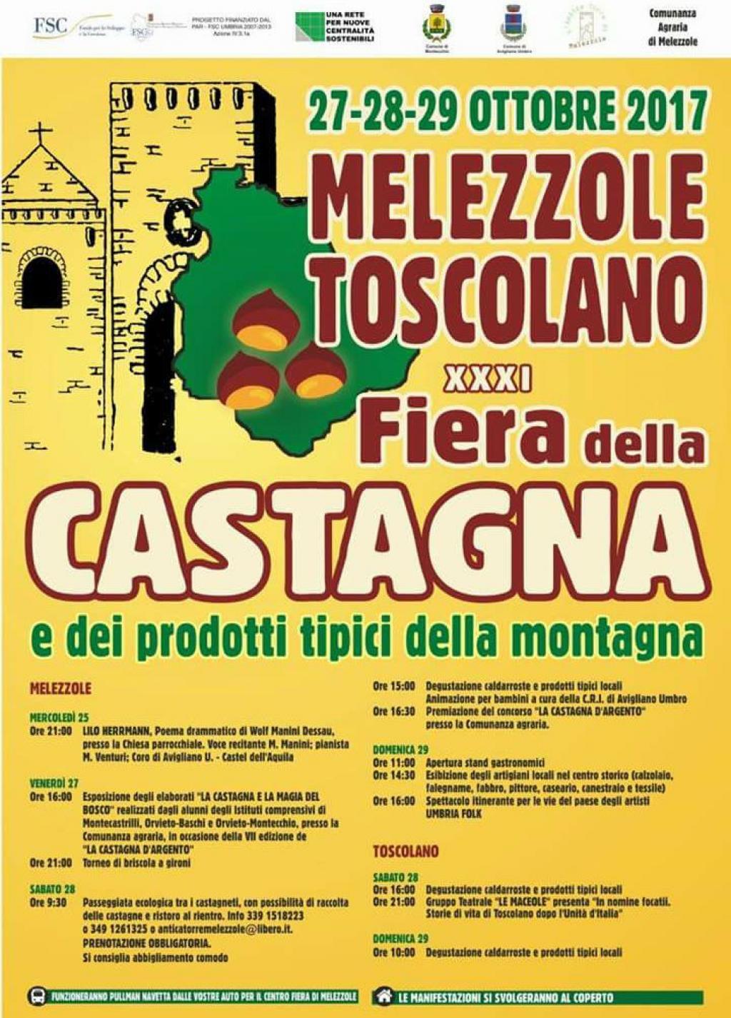 Sagra della castagna - Toscolano Melezzole 2017