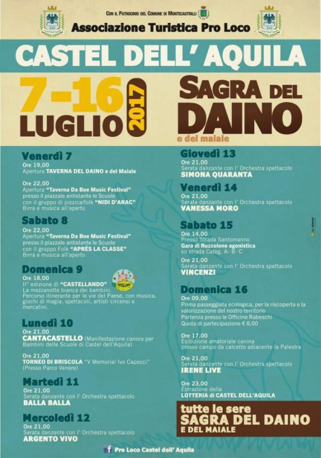 Sagra del Daino -  Castel Dell\'Aquila - Umbria