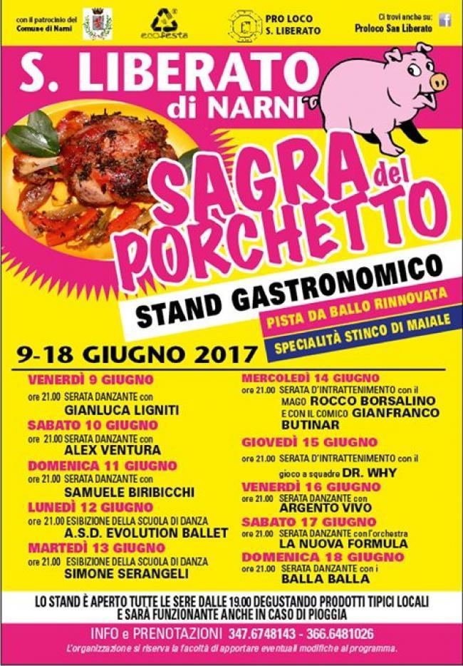 Sagra del porchetto - San Liberato - Narni