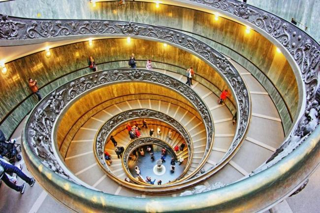 scala elicoidale del Bramante - Vaticano