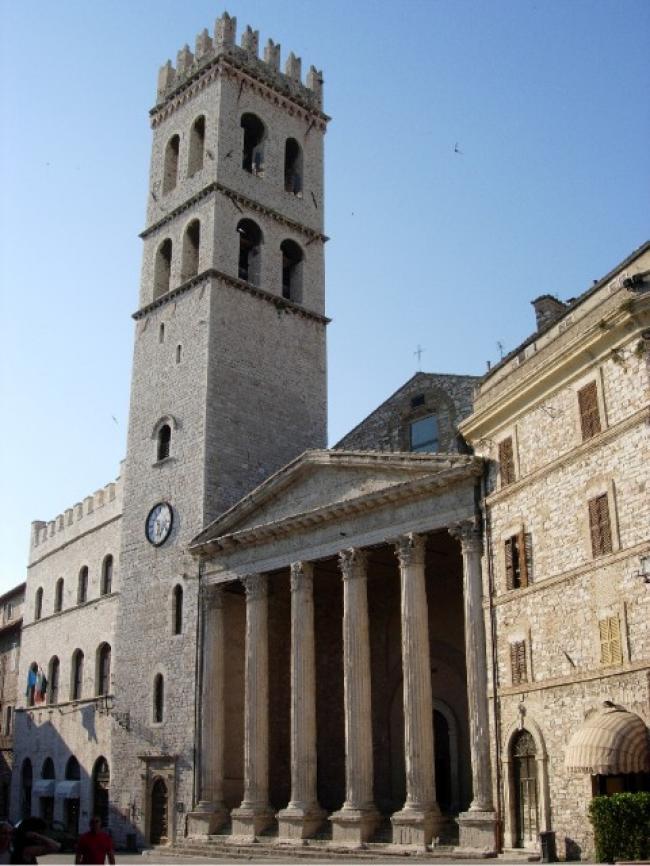 Tempio di Minerva- Assisi - Umbria