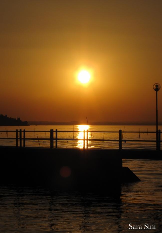 Tramonto - Lago Trasimeno - Umbria