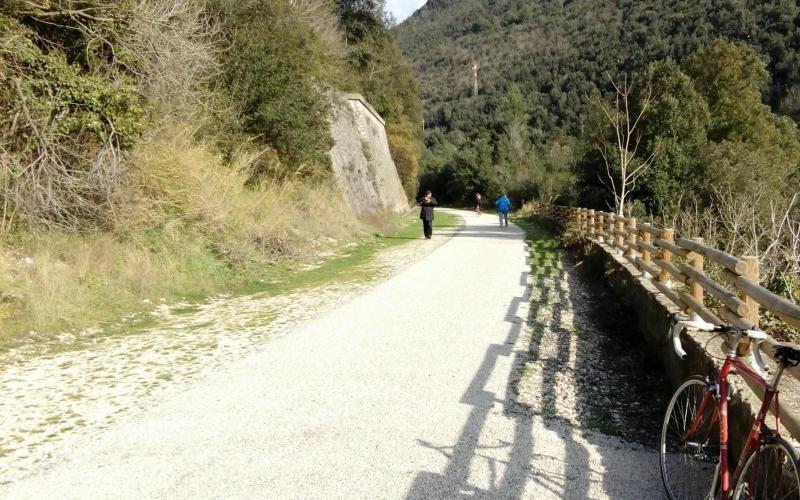 Vecchia via Ferroviaria - Ciclabile Gole del Nera