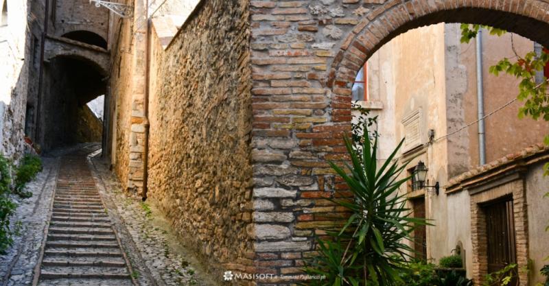 Abitazione di Sesto Roscio nel centro storico