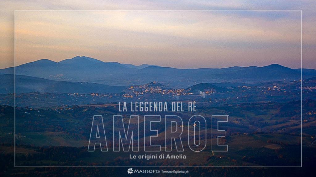 Paesaggio dei Colli Amerini - Legenda del Re Ameroe - Foto di Tommaso Pagliaricci Masisoft