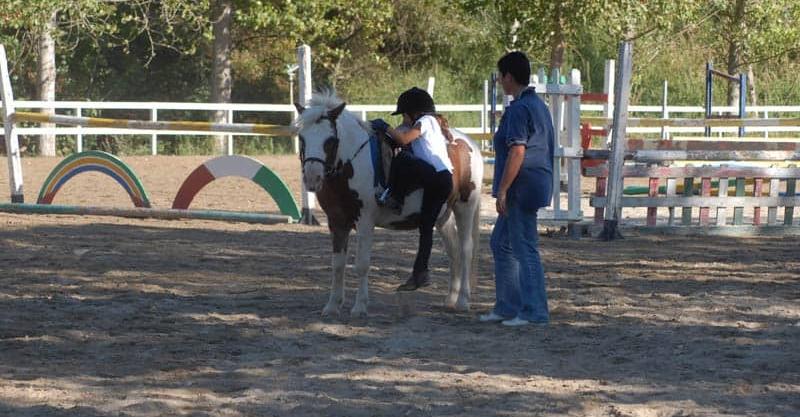 Lezioni di equitazione per bambini ad Amelia Terni Umbria